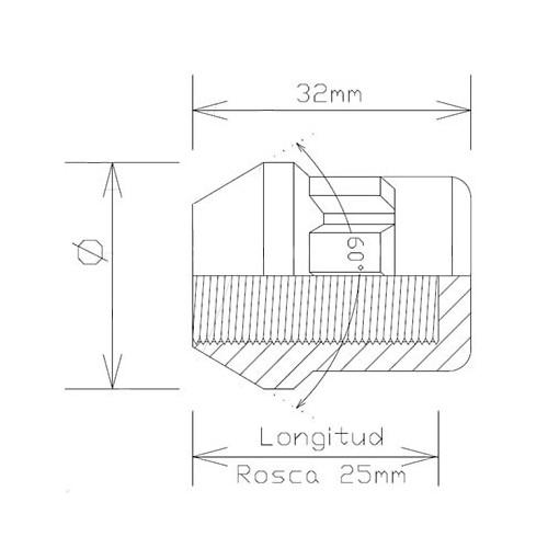 Codo de silicona 30 mm.