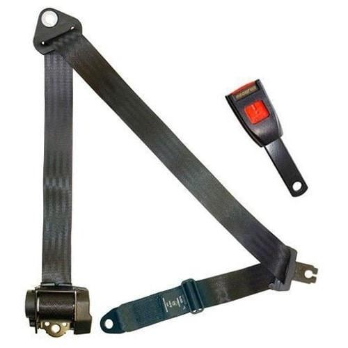 Cinturon de seguridad automático de 4 puntos homologado. Hembra rígida de 15 cm.