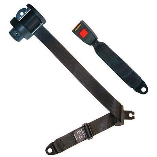 Cinturon de seguridad automático de 3 puntos, angulo de montaje ajustable. Homologado.