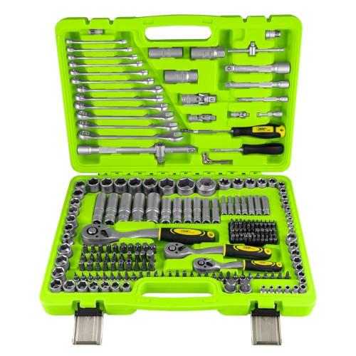 JBM 53730 Estuche de herramientas de 216 piezas / con vasos hexagonales