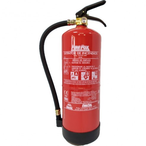 Extintor polvo ABC 6 Kg. 34A-233B