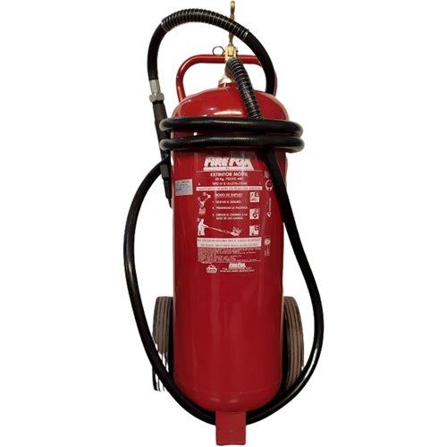 Extintor polvo ABC con ruedas 50 Kg.