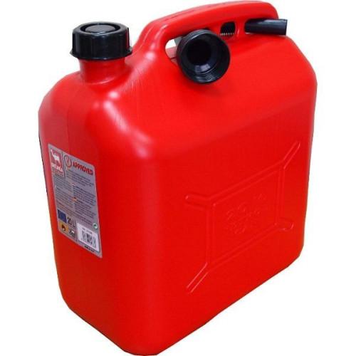 Bidón de combustible homologado de 20 litros