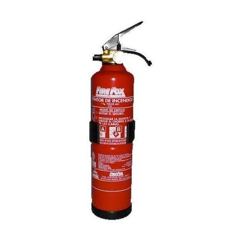 Extintor polvo ABC 1 Kg. 5A-21B