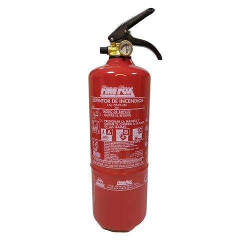 Extintor polvo ABC 2 Kg. 8A-34B