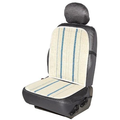 Respaldo de asiento de rafia