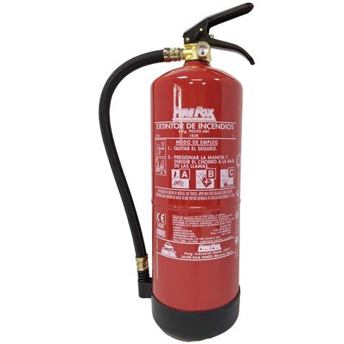 Extintor polvo ABC 6 Kg. 27A-183B
