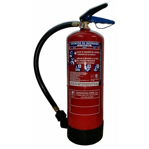 Extintor de agua de 6 kilos eficacia 34A-233B-75F