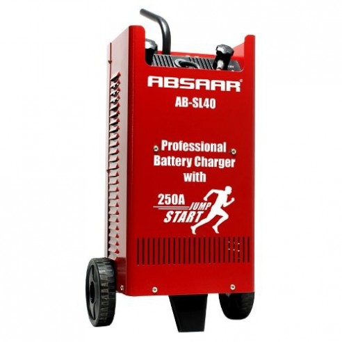 Cargador y arrancador de baterías ABSAAR SL40