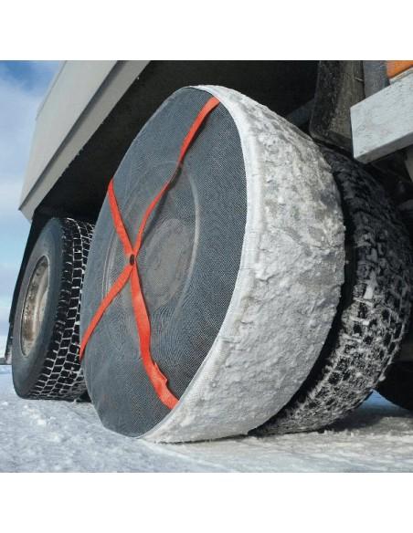 Fundas anti-deslizantes nieve para camión